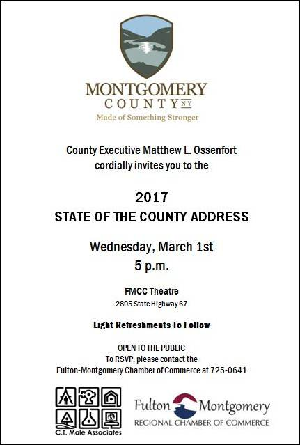 State of the County 2017 Invitation. All text listed below.