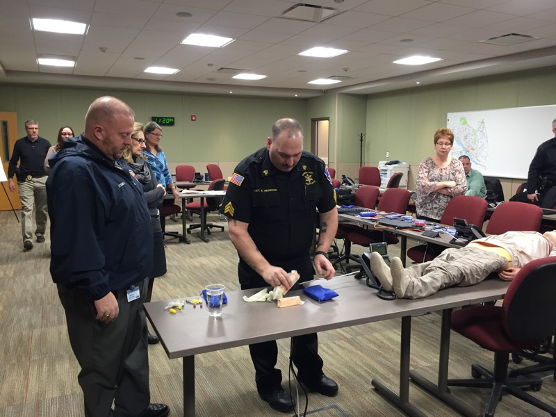 Naloxone Training Preparations