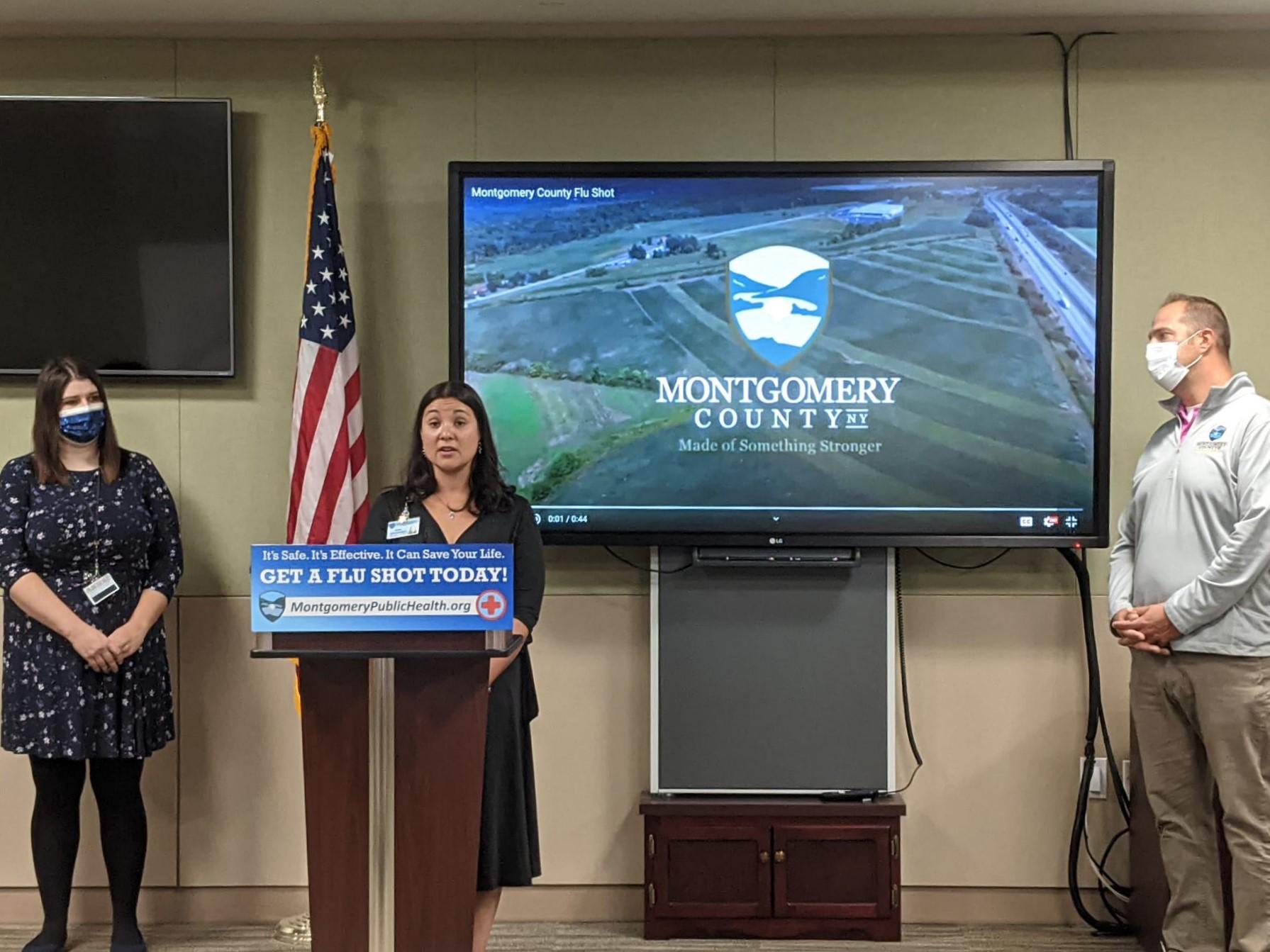Montgomery County Public Health Director Sara Boerenko