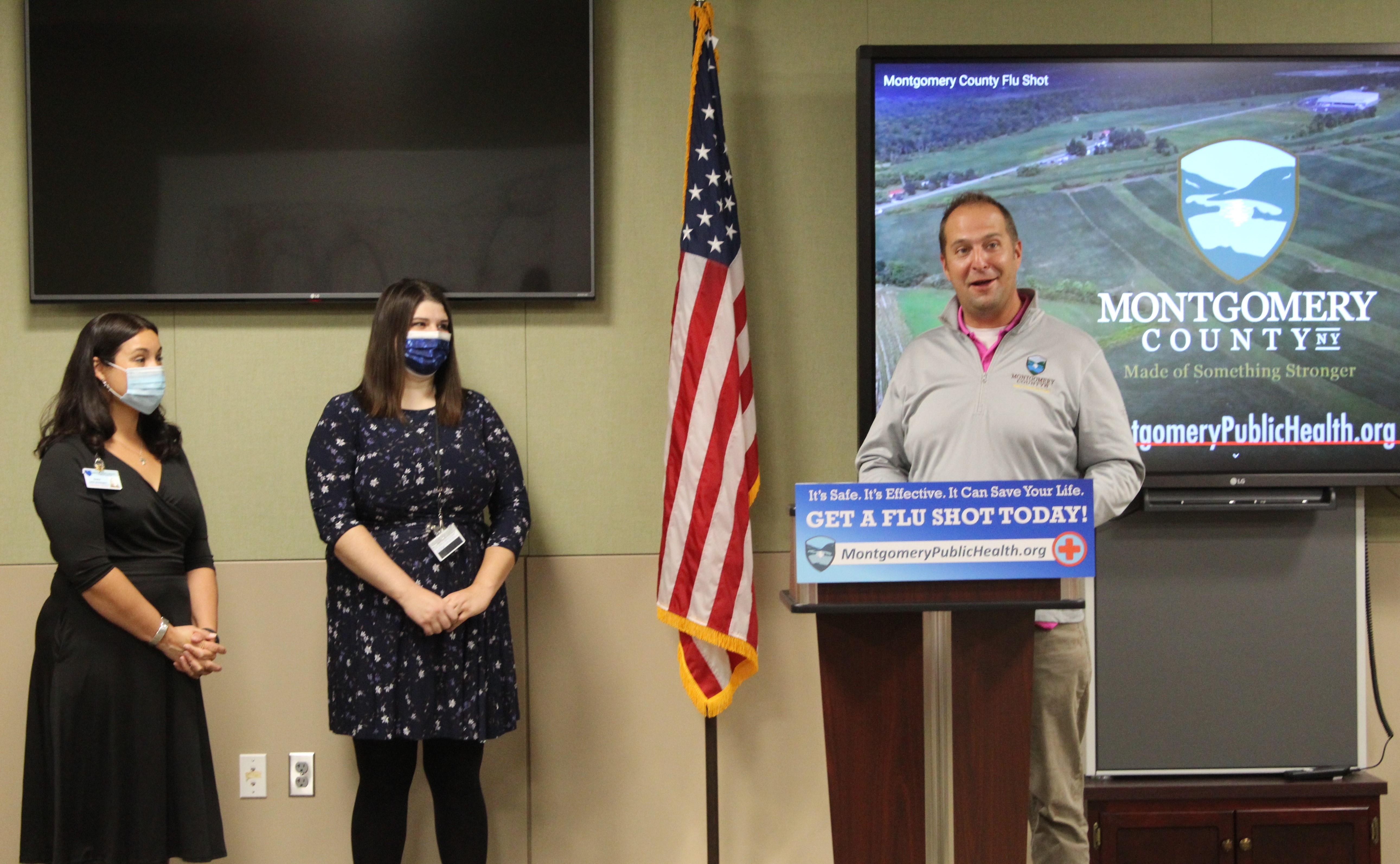 Montgomery County Executive Matt Ossenfort