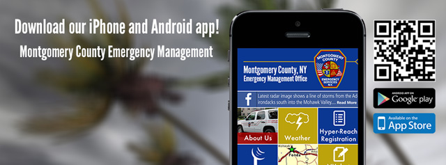 Download our iPhone and Android App - Montgomery County Emergency Management