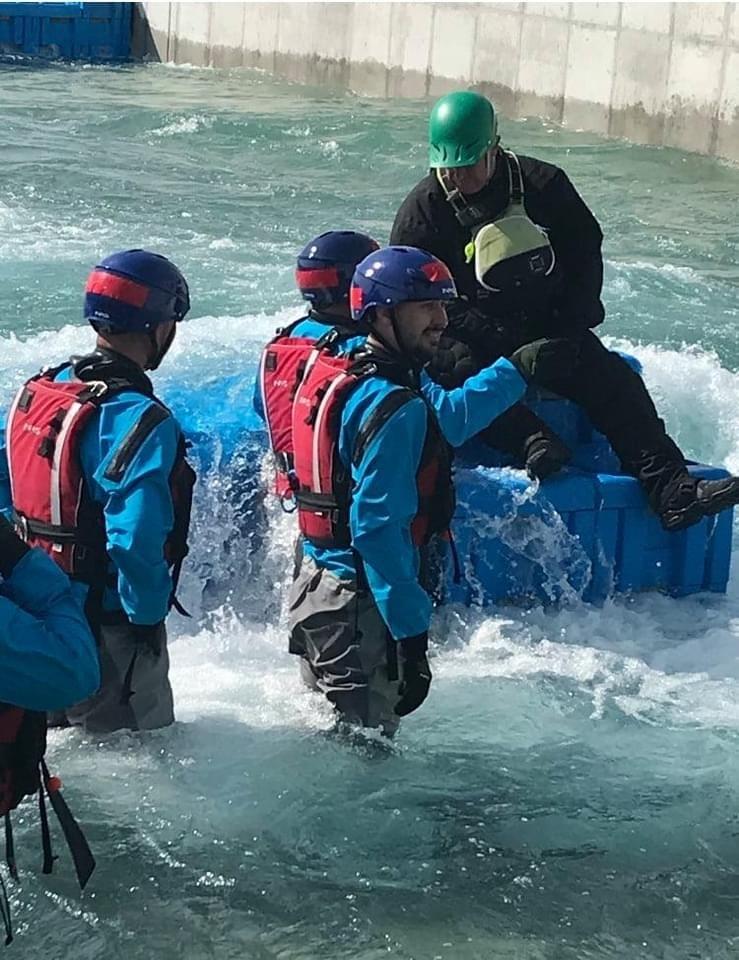 Swift Water Rescue Training