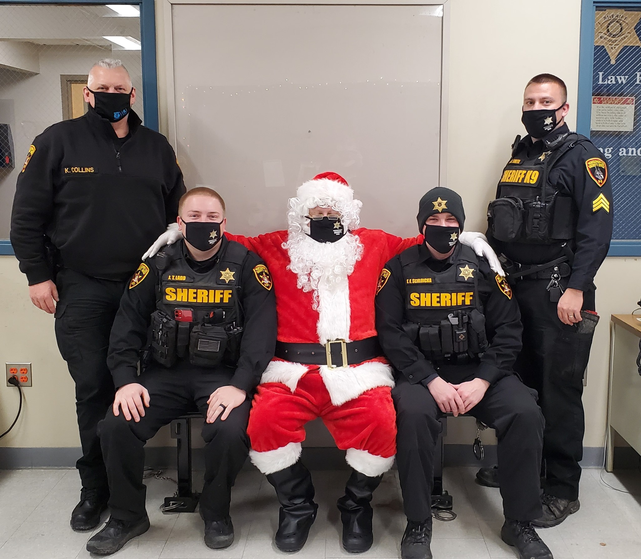 Sheriff's Office Christmas Party