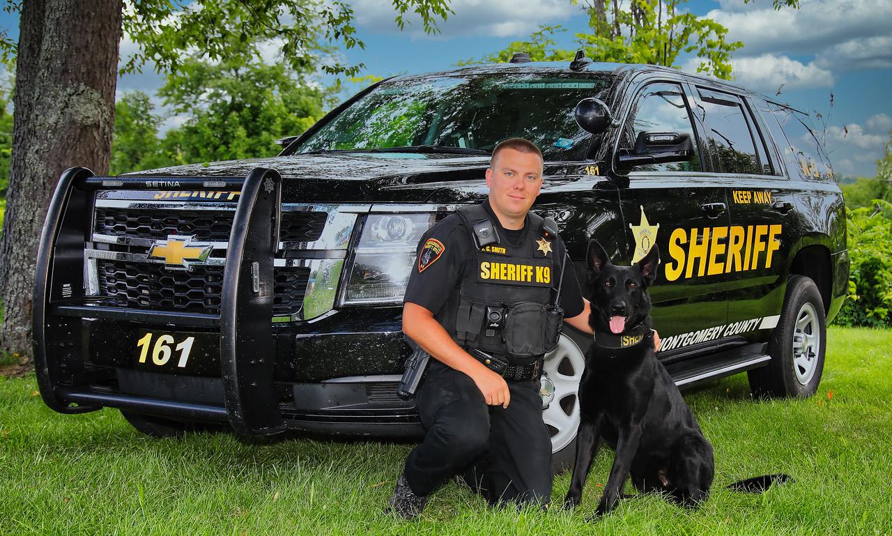 Sergeant Justin Smith & K-9 Bud
