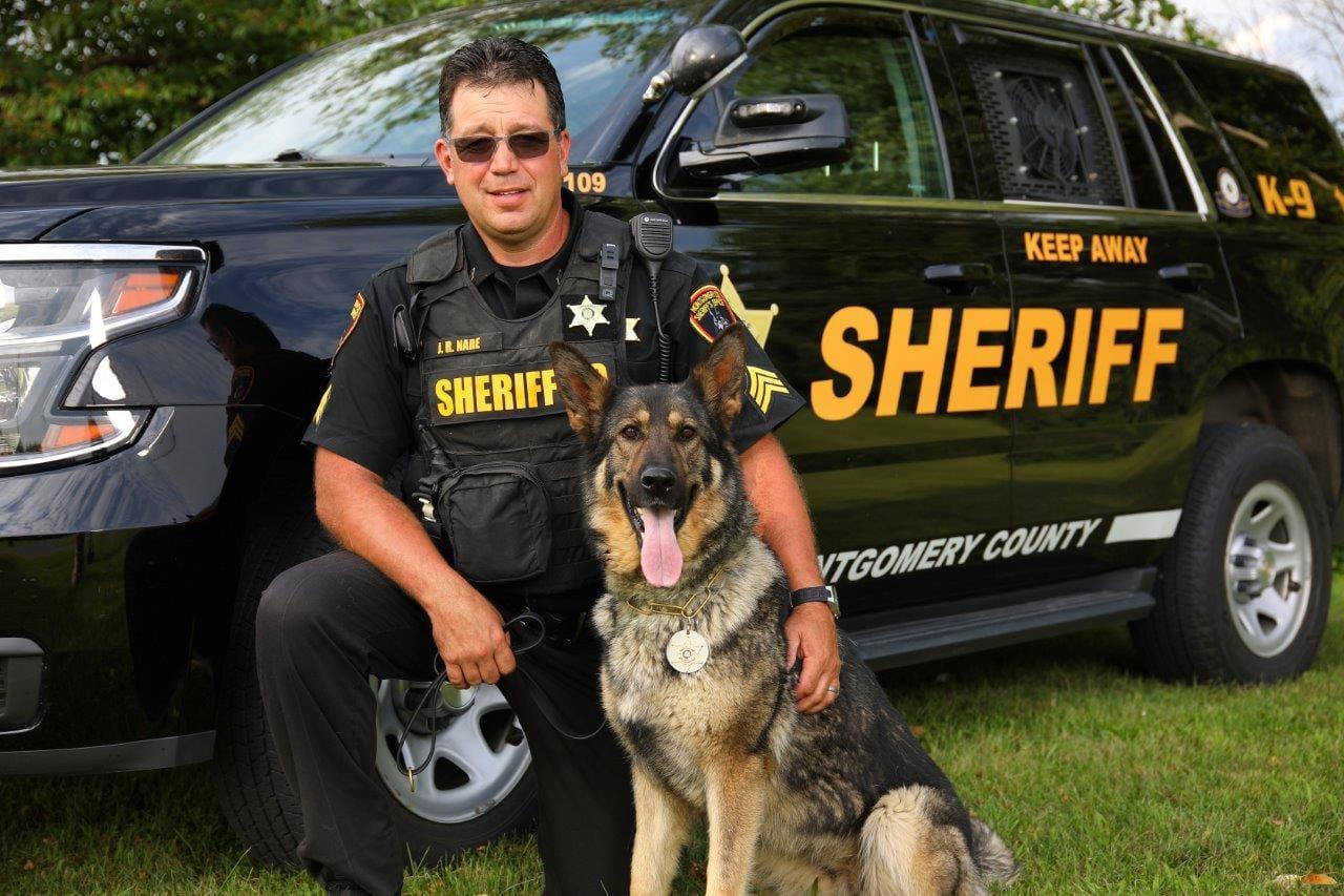 Sergeant Jason Nare & K-9 Ginger